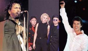 Аккорды и ноты песен 90-х