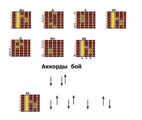 Аккорды «Экспонат» Ленинград